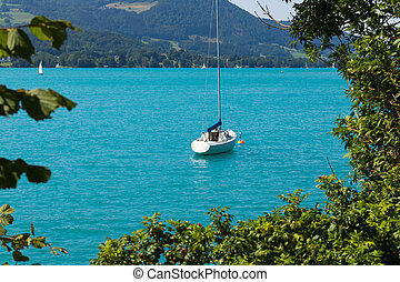 Lake in Austria, Attersee