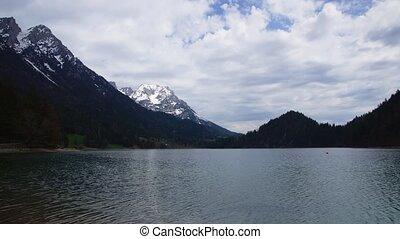 lake in Austrian Alps, Tirol - time-lapse