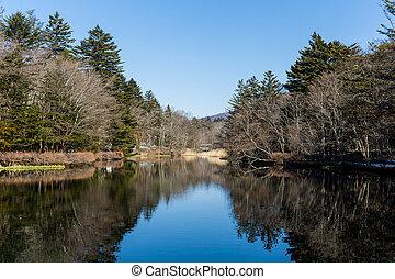Lake in karuizawa
