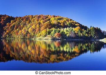Lake in Plitvice National Park