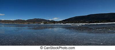Lake in Rocky Mountains, Colorado