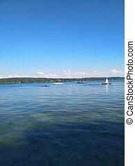 lake in summer