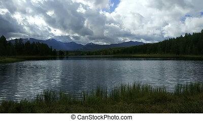 Lake in the Altai Mountains, Siberia