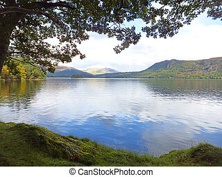 lake in the Cumbria district