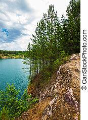 Lake in the forest. Western Siberia, Russia - Abrashino ...