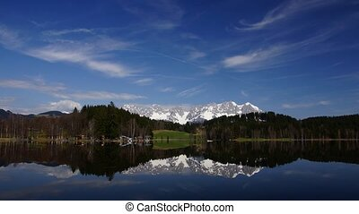 Lake in Tirol - time-lapse