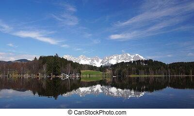 Lake in Tirol - real-time