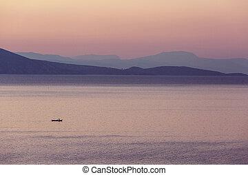 Lake in Turkey