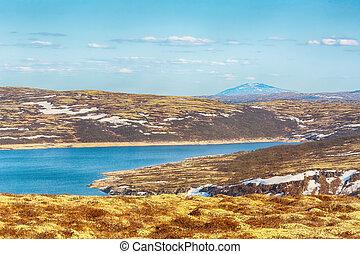 Lake Innerdalsvatnet, Norway