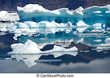 Lake Jokulsarlon Iceland
