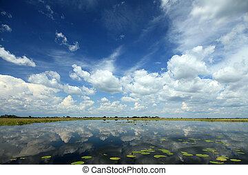 Lake Anapa in Uganda - The Pearl of Africa