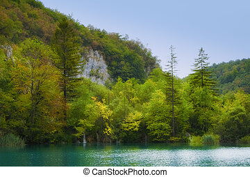 Lake - Landscape of a beautiful lake