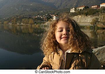 lake little girl