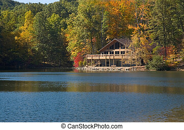 Lake Lodge - A lodge on the lake in Allen Park Ohio. Located...