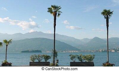 Lake Maggiore, scenic view. - Lake Maggiore scenic view....