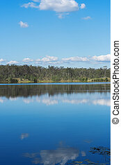 Lake Manchester during the day - Lake Manchester in...