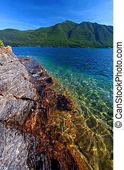 Lake McDonald of Glacier Park