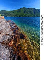 Lake McDonald of Glacier Park