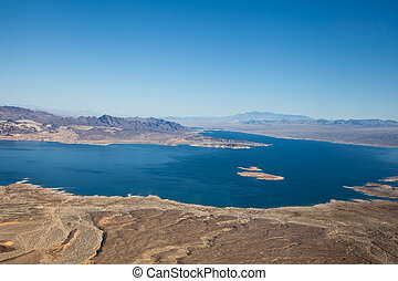 Lake Mead Aerial View