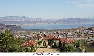 Lake Mead in Nevada - Lake Mead National Recreation near...