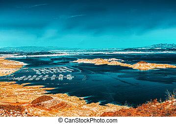 Lake Mead National Recreation Area. Nevada. USA.