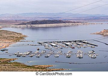 Lake Mead Recreation Area in Nevada and Arizona USA