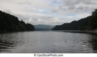 Lake Merwin in Washington State - Lake Merwin is a reservoir...