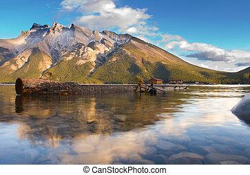 Lake Miniwanker - Dreamy mountain lake scene
