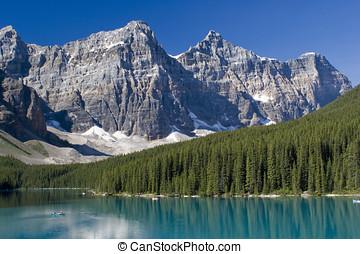 Banff National Park - Lake Moraine in Banff National Park...
