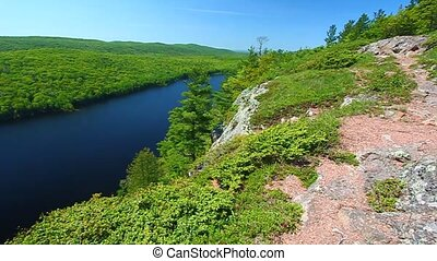 Lake of the Clouds - Michigan - Lake of the Clouds on a...