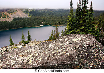 Lake O'Hara, Yoho National Park, British Columbia, Canada -...