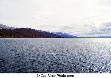 Lake Ohrid in the winter