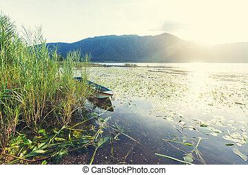 Lake on Bali