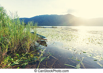 Lake on Bali