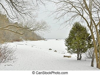Lake Ontario, Winter