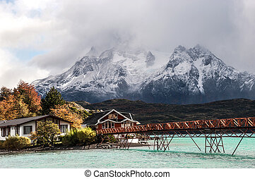 Lake Pehoe, National Park Torres del Paine, Chile