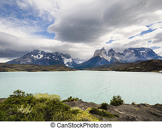 Lake Pehoe, Torres Del Paine National Park, Patagonia, Chile