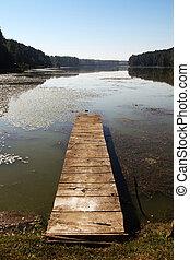 Lake pier 02
