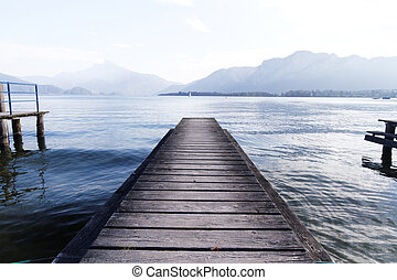 Lake pier