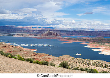 Lake Powel in Arizona