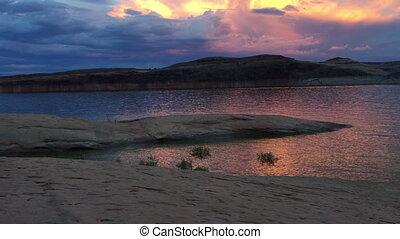 Lake Powell at Sunset Utah