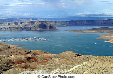 Lake Powell landscape