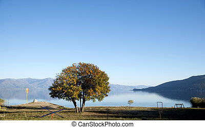 Lake Prespa in Macedonia