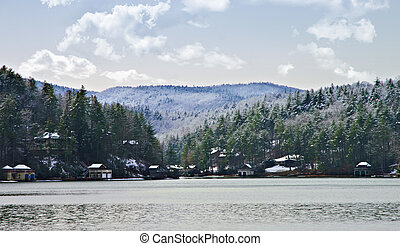 Lake Rabun in Winter