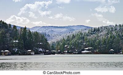 Lake Rabun in Winter
