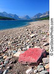 Lake Sherburne of Montana