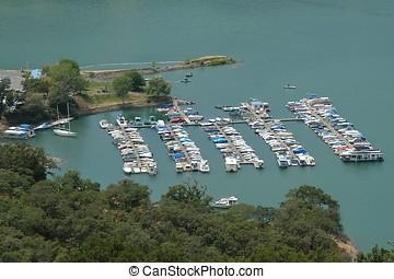 Lake Sonoma port