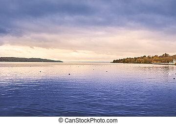 Lake Starnberg in Germany