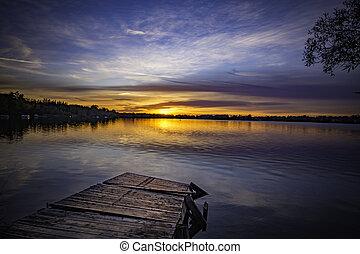 Lake Sunset 4