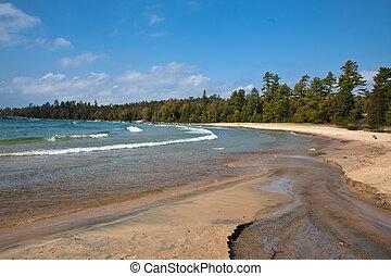 Lake Superior Sandy Beach Katherine Cove